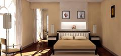 卧室灯具装饰,卧室风水须注意!