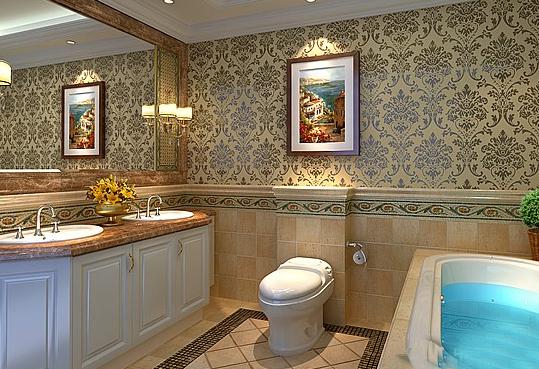 美式风格卫生间装修