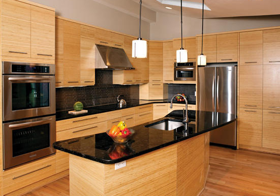 厨房装修炉灶效果图