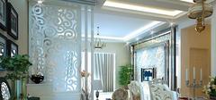 客厅装修设计之隔断设计