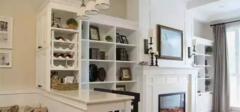 家装欧美风格,客餐厅利用率超高!