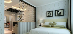 客厅与卧室隔断该如何装修?