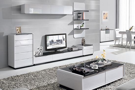 钢化玻璃电视柜