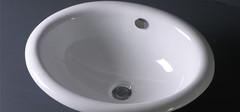 不同风格的陶瓷台盆是如何搭配的?