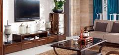 胡桃木家具装饰,中式风格家居!