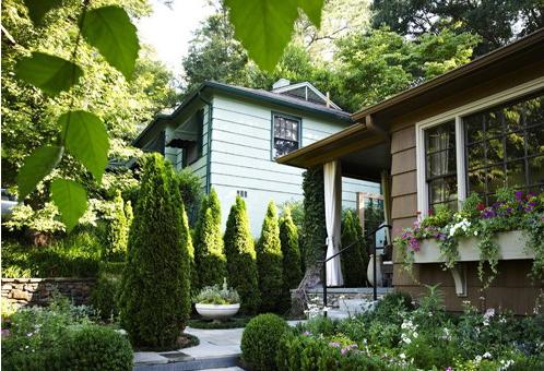 花园装修效果图案例欣赏