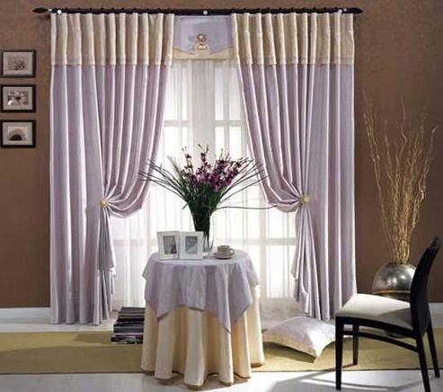 窗帘款式效果图