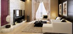 客厅装修,地砖规格选择有讲究!