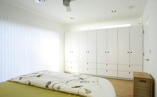 白色卧室家具