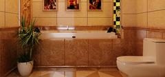 卫生间装修搭配,墙砖尺寸选购!