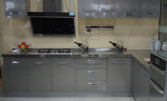 不锈钢整体橱柜,整体橱柜