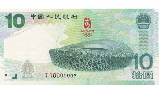 奥运纪念钞最新价格明细