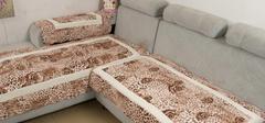 优质生活皮沙发搭配,沙发垫选购!