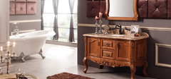 橡木浴室柜优点赏析