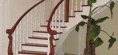 木质楼梯扶手介绍,楼梯扶手价格解析!