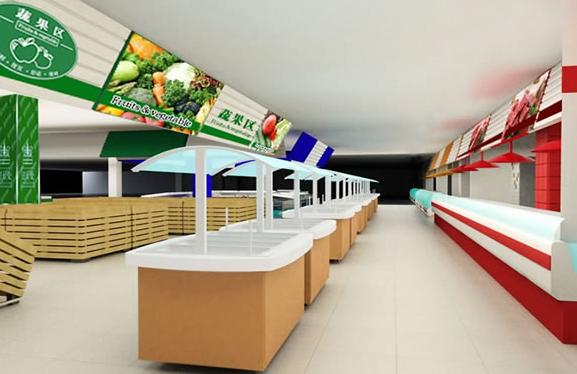 幼儿园小超市墙面装饰图片大全