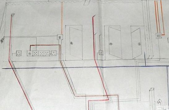 隐蔽工程电路改造