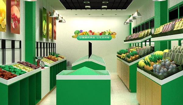 水果店装修效果图及注意事项