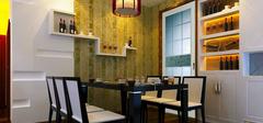 小户型装修,餐厅装修温馨就餐区!