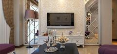 客厅背景墙壁纸选购,壁纸装饰家居环境!