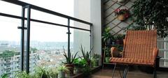 阳台装修完美变身,阳台花园巧妙搭配!