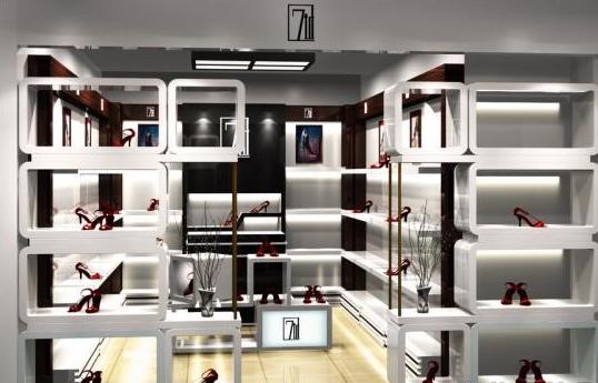 鞋店装修效果图