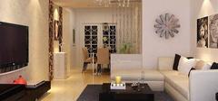 客厅简单装修,简洁的装饰手法!