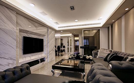 用于背景墙装修的材料有很多,实木,玻璃,金属以及大理石等.