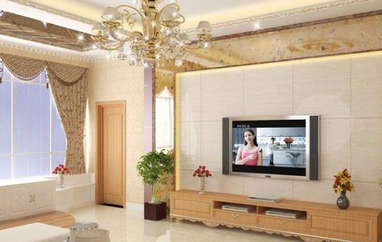 客厅电视背景墙装修图片