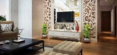 客厅电视背景墙装修图片,增添客厅特色!