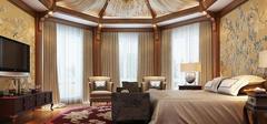 美式风格卧室设计图,朴实无华的设计!