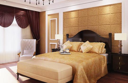 恬静的卧室装修
