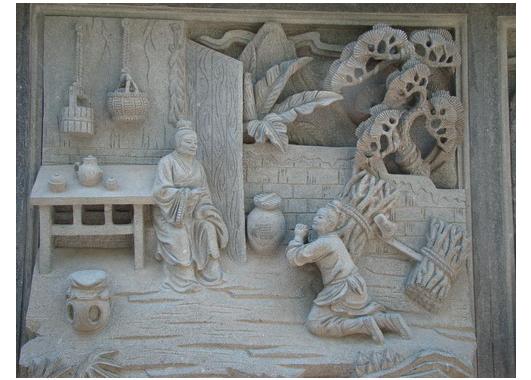 浮雕壁画工艺设计