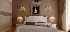 恬静的卧室装修,温馨卧室装修效果图!