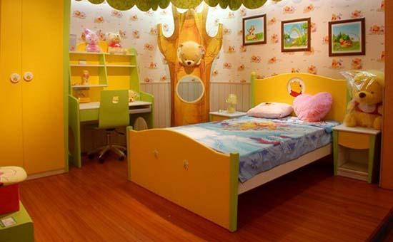 儿童房地板
