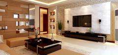 电视背景墙设计,简约时尚设计理念!