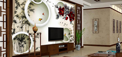 客厅电视背景墙的设计原则有哪些?