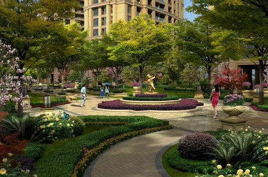 住宅小区绿化率计算