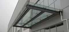 夹层玻璃雨棚材质的特点