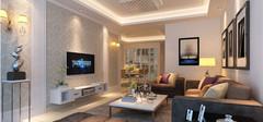 客厅电视背景墙纸的施工流程