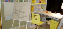 儿童书桌高度与儿童身高的关系