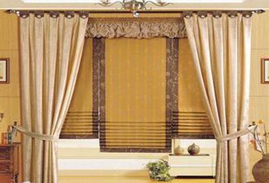 窗帘的挂法