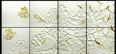 浮雕背景墙的设计的不同风格
