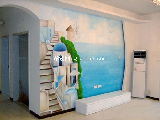 手绘背景墙设计