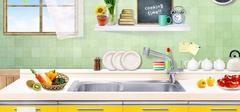 爱上做饭的感觉,创意厨房设计!