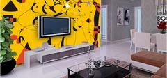 手绘背景墙设计,设计艺术之家!