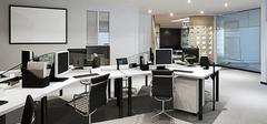 办公室装修实景图,办公室装修类型解析!