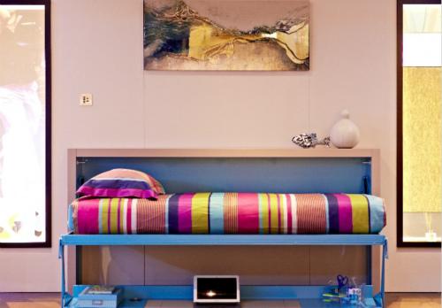 折叠床效果图
