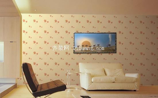 沙发背景墙壁纸