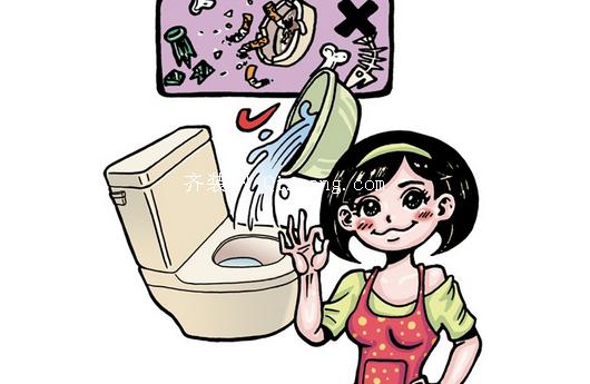 厕所节水小窍门